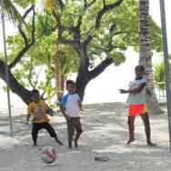 Fußballmädchen